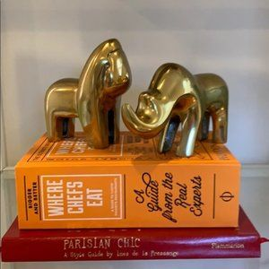 Mid Century Modern Brass Animal Figurines